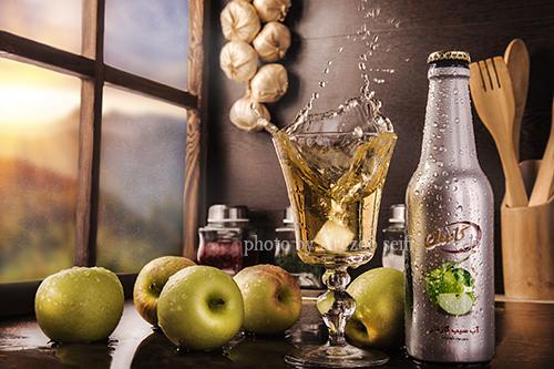 عکاسی تبلیغات و صنعتی نوشیدنی